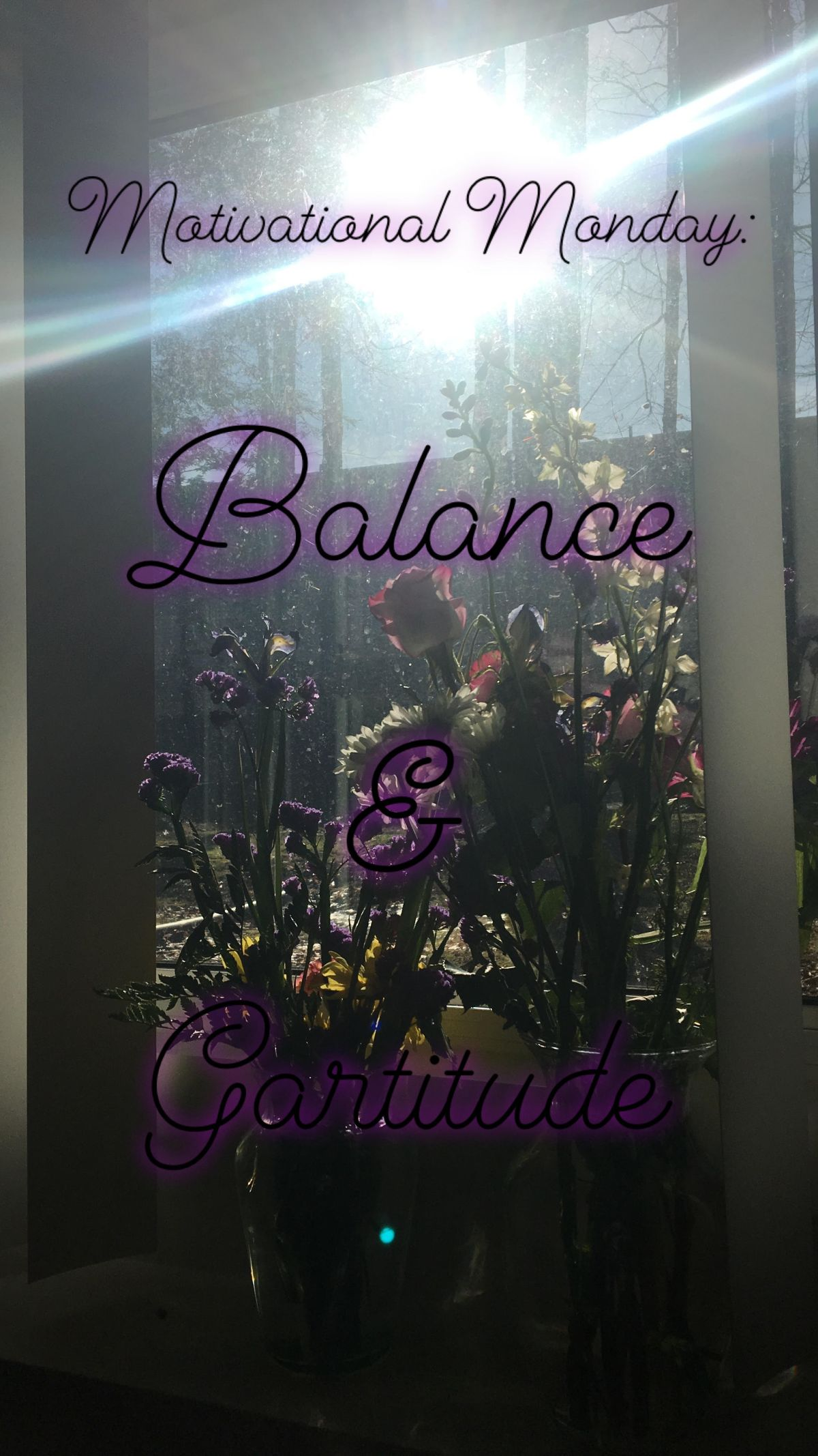 Motivational Monday: Balance & Gratitude